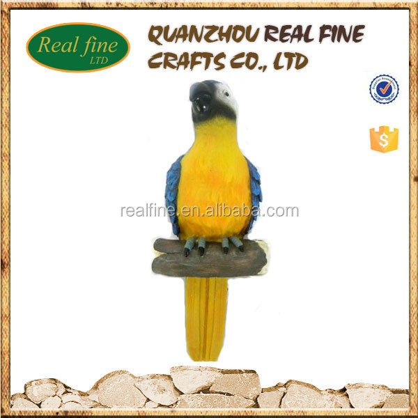 wholesale cheap resin parrot outdoor decorations for sale