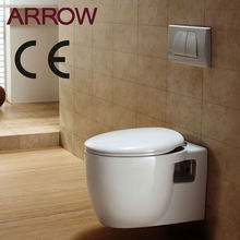European style ce certified wall hang toilet