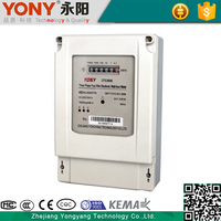 Electricity Preset Function Electronic three phase digital energy meter