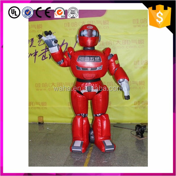 1.8m festival events custom inflatable robert/advertising promotional model W9854