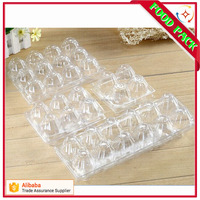 customized food grade PET plastic egg tray for 4 6 8 10 12 24 30 eggs