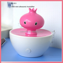Fragrant mini portable air humidifier as seen on tv 2016 new products