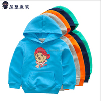 The new children's clothing who dress pure cotton terry boy who bear head fleece