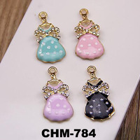 Fashion Jewelry Dress Charms Key Chain Accessories Couples Jewelry Pendant