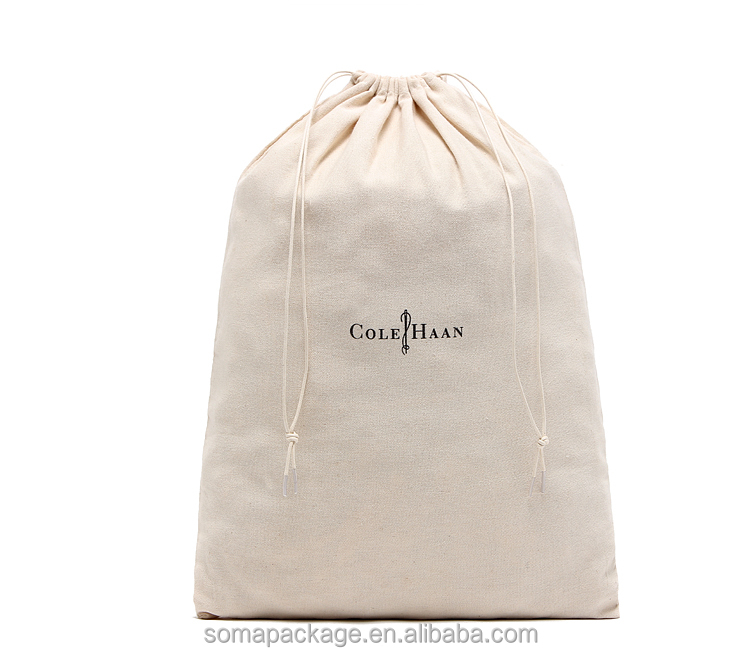 Competitive price best selling cotton drawstring bag shoe bag