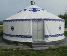 Aluminum frame Outdoor Luxury Mongolian Yurt Tent