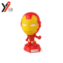 Mini Toys Classic Marvel Series Bobble Head Ironman Action Figure
