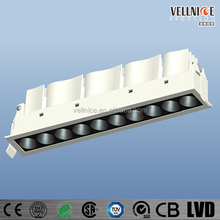 Laser Blade multiple LED downlight 21W/anti-glare recessed led down light