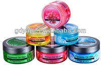 new arrival hair gel wax nice fragrance strong styling 300g