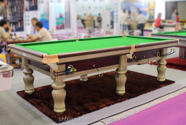 Solid wood 8ft 9ft 10ft billiard table and 9ft pool table for 10 ft billiard table