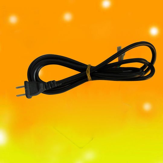 hot euro type two plugs power cord