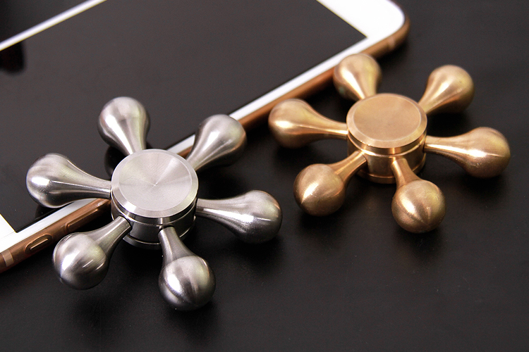 Alloy Metal Finger Spinner High Quality Bearing Hand Spinner Toys Fidget Spinner