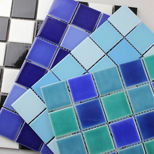 Mosaic ceramic tile thickness 5mm ceramic wall tile linyi