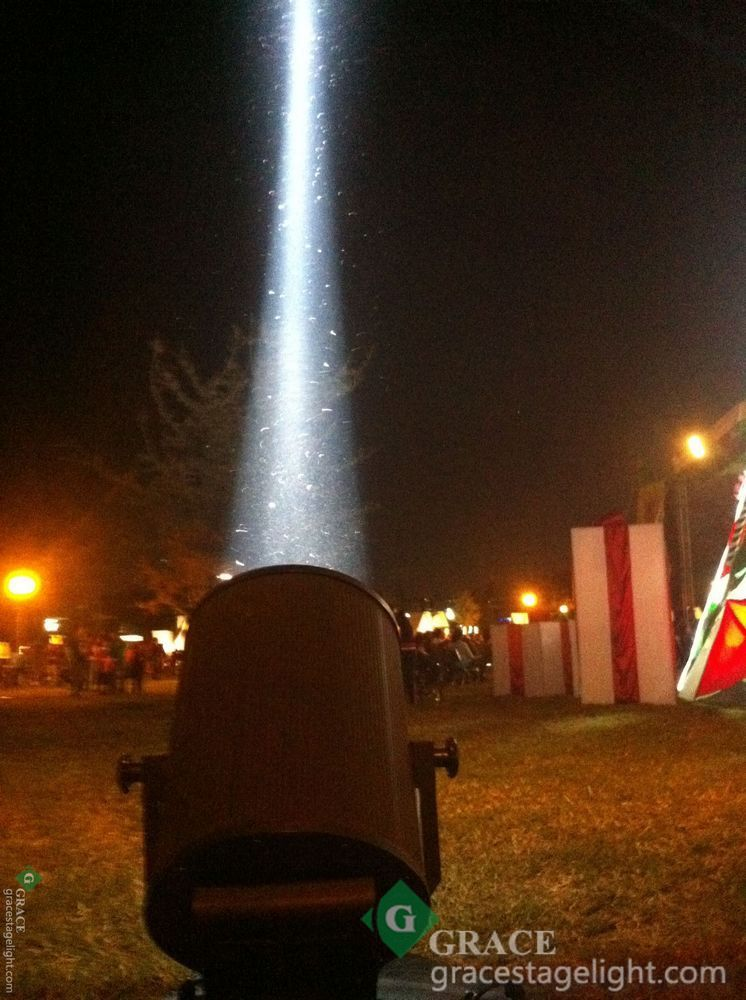 5000W sky cannon searchlight