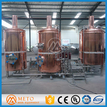 SUS 304 or copper beer brewery equipment,mash&lauter tun