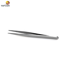 natural color stainless steel Hi-Q pointed vetus tweezers for blackhead removal