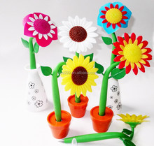 Creative Customized Colorful Sunflower Pen STP-245483