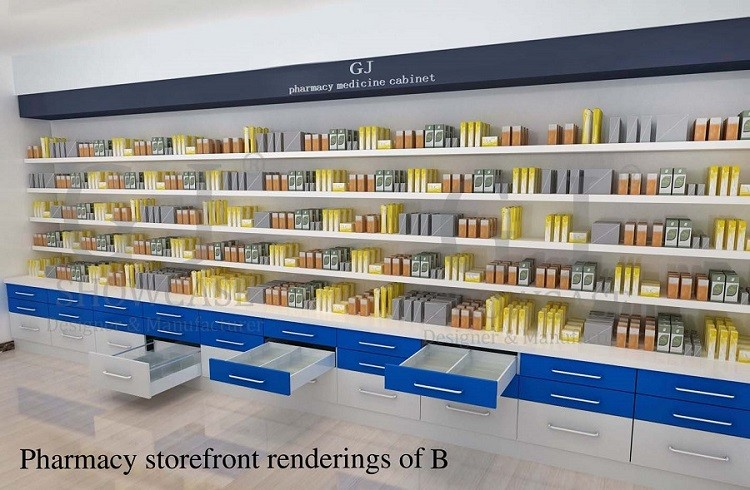 Innovate pharmacy counter design for pharmacy shop decoration ...