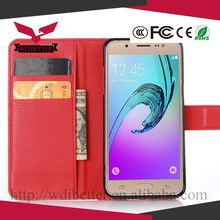 Color PU leather wallet stand flip Cover Case for Samsung Galaxy S6/s6 edge/S6 Active