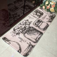 New! Plush Printed Kitchen Floor Mats with Disney FAMA certificate