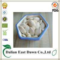 Salted and roasted snow white pumpkin seeds 10%salt to USA market