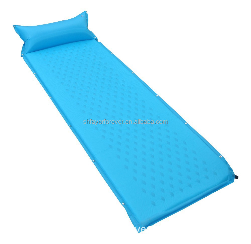 outdoor camping inflatable air mattress mat /dry pouch