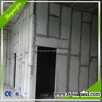Hubei Boyuejia fire rated walls/precast partition panels lightweight walls