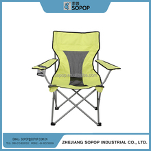 High Back Kids Stainless Steel outdoor Fabric folding quad Chair