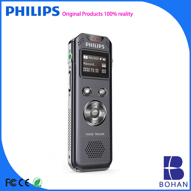 PHILIPS Digital Voice Recorder with Bulit-in Usb Drive up to 40 Hours