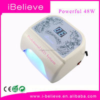 Nail art designs salon gel nail polish dryer 18w uv lamp bulb for nails