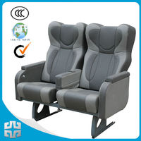 Hot Luxury bus seat ZTZY6683/leather chairs bus/leather bus seats for sale/leather coach seat