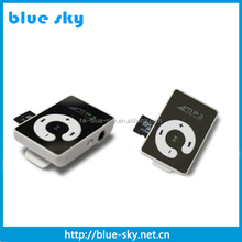 High Quality mp3 with clip and LCD display