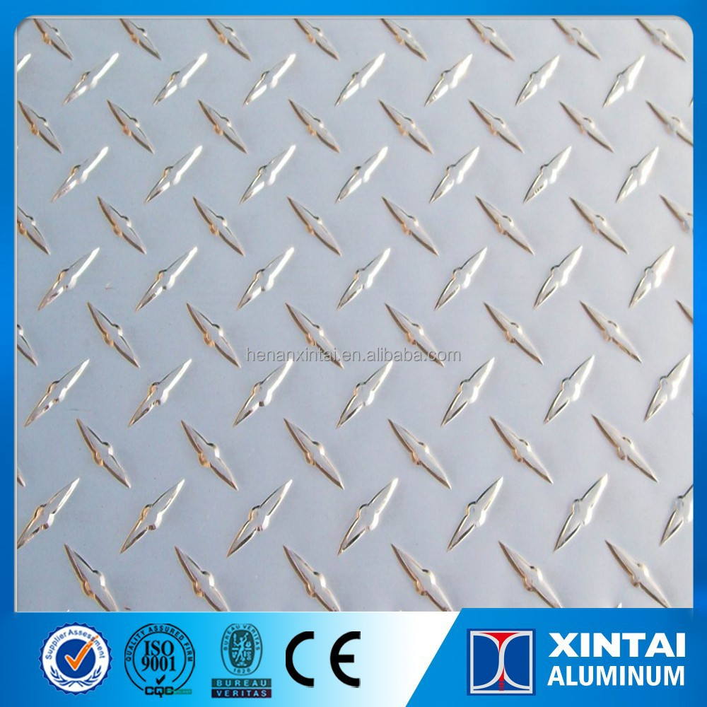 3003 Aluminum diamond plate with color painted