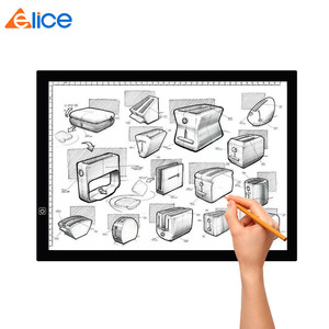 Tattoo Transfer Portable Acrylic Copy Board USB Adjustable Architecture Sketch Children's Drawing Pad A3 LED Tracing Light Box