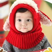 Custom Lovely 6-36 Month Knit Warm Baby Winter Hat