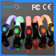 Colorful LED Outdoor Running light arm band night safety flash light band for sports LED armband