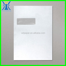 YIwu New Arrivred Tracing Window Color Manila Paper Envelope