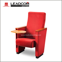 Leadcom space saver fabric auditorium seats theatre chair LS-14607