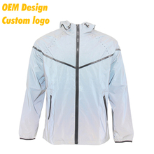 OEM Fashionable Silk Screen Printing with hood Jacket