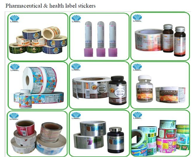Custom Roll Waterproof Logo Product Packaging Label,Self Adhesive round Sicker Label Roll