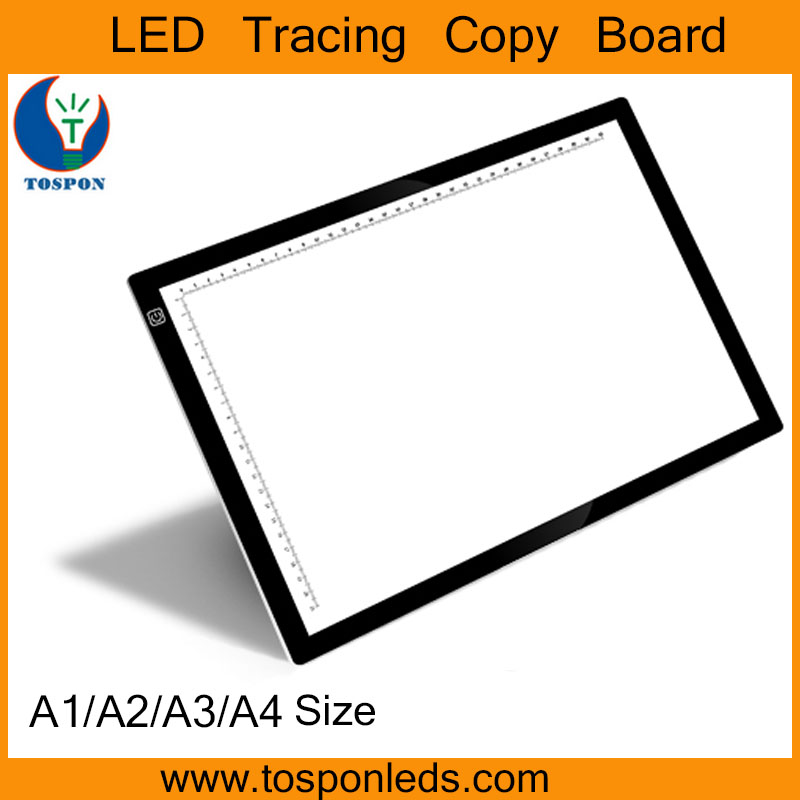 A1 A2 A3 A4 Size Adjustable Lighting LED Slim Tracing Light Box Table for Tattoo Animation Art Light Box