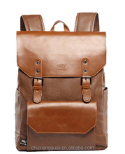Retro Style Fashion Backpack Bag Leather Waterproof High Quality School bag School backpack