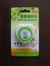 150cm novelties Plastic bmi calculator measuring tape