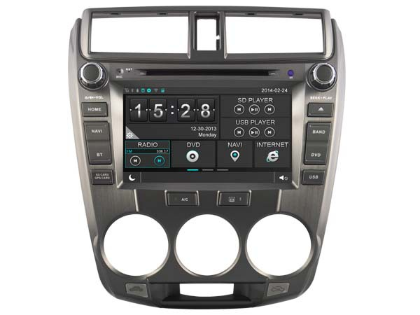 WITSON HONDA CITY 2008-2012 CAR DVD GPS 1080P DSP CAPACTIVE SCREEN WiFi 3G FRONT DVR CAMERA