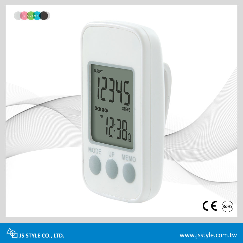 Hot Sale Promotion 3D Sensor Motion Counter Precise Pocket Pedometer