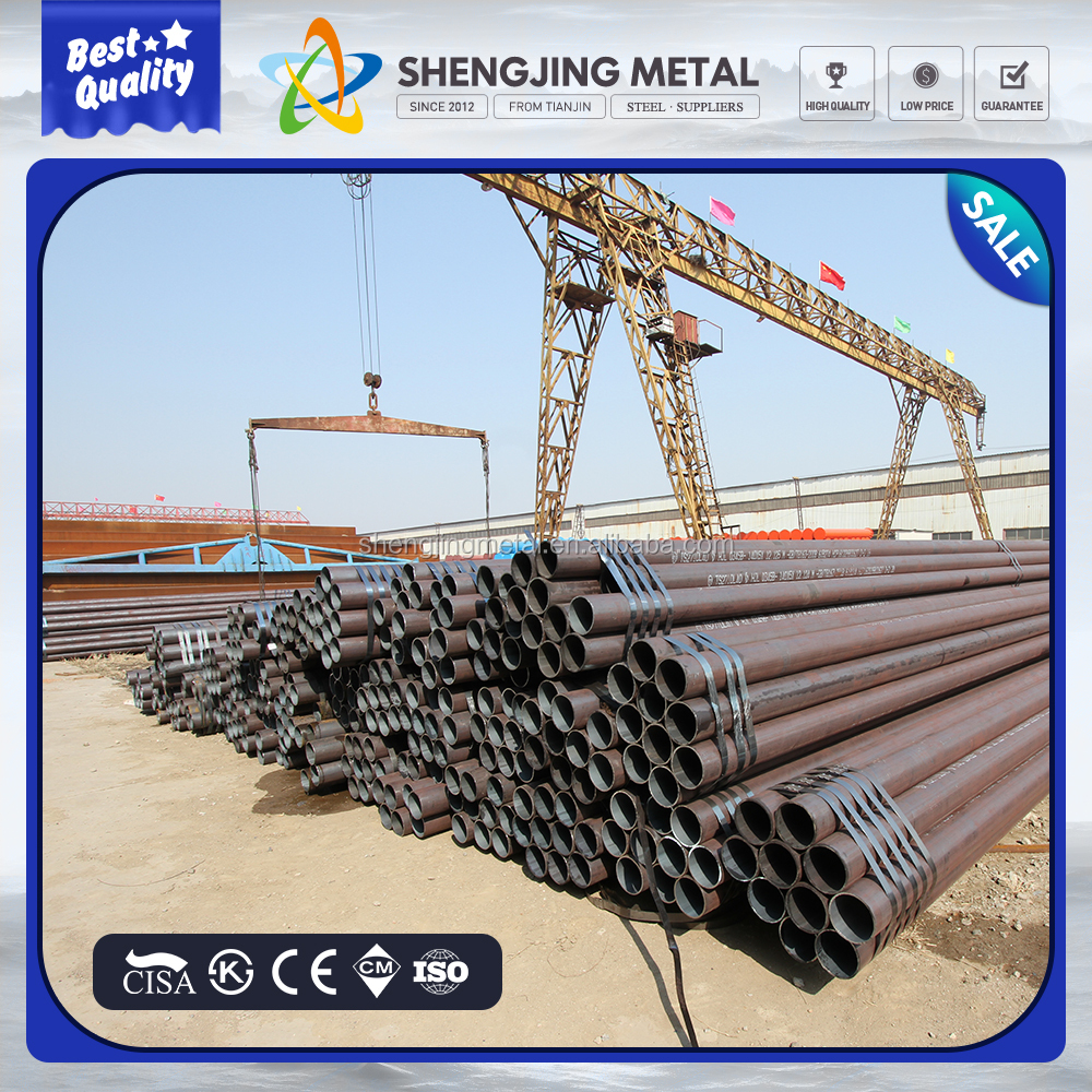 Carbon seamless steel pipes din 17175 / st 35.8 that new technology product in china