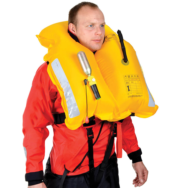 Offshore Work Inflatable Adult Swim Life Jacket Vest