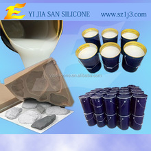 Good quality Decorative Artificial Stone Mould Making Silicone Rubber
