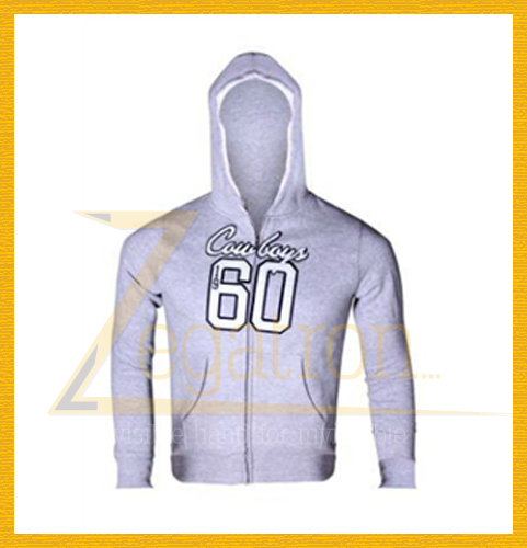 Wholesale Custom Men's Light or Heavy Weight Poly Cotton Zipper Up Hoodies Sweatshirts/Polar Fleece or Terry Fabric Jacket