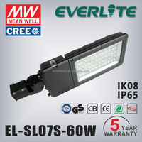 Good price Heavy Alumunium Alloy body 60W SMD LED solar power street light
